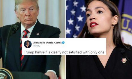Ocasio Cortéz se Burla de Trump: Claramente Él no Está Satisfecho Con un Sólo Artículo de Destitución