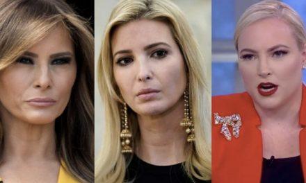 """Melania e Ivanka son """"CÓMPLICES"""" en los Ataques a las Viudas, Dice la Hija de McCain"""