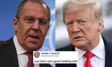 El Ministro Ruso de Exteriores Contradice el Reclamo de Trump de Que Hayan Discutido la Interferencia Electoral