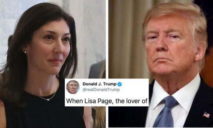 """Trump Continúa Atacando a los Agentes del FBI Que le Investigaron y Exige Ver los """"Textos Entre los Amantes"""""""