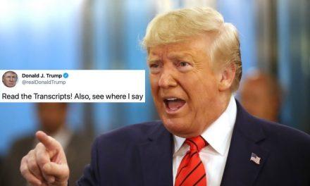 ¿Cómo un Presidente Dolido y Demente Termina Una Dura Semana? Pregúntale a Donald