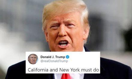 Trump Ofende a California y Nueva York Con Una Muestra de Cinismo Casi Inigualable