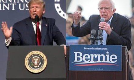 Para Ganarle a Trump, Bernie Sanders se Coloca al Frente de las Encuestas. Y También de los Ataques