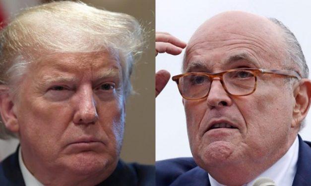 """Dice Trump Que Giuliani """"Encontró Muchas Cosas"""" en Ucrania y Está Dispuesto a Testificar Ante el Congreso"""