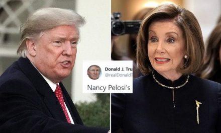 La Obsesión de Trump Con Nancy Pelosi es Tan Grande Que Tuitea Sobre Ella al Acostarse y al Levantarse