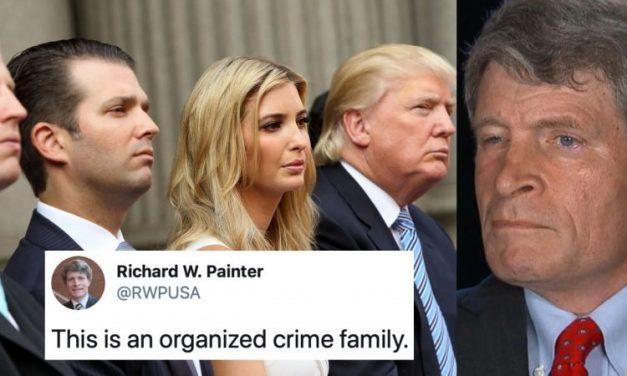 """""""Los Trump Son Una Familia del Crimen Organizado y Hay Que ir Tras Ellos"""", Dice ex Jefe de Ética de Bush"""