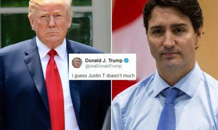 Trump Ataca Mezquinamente a Trudeau Después de Que Eliminaran su Aparición en la Película Canadiense