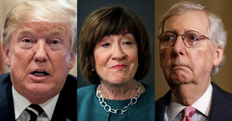 Desacuerdo en Filas Republicanas: Esta Senadora Está Trabajando Para Que se Permitan Nuevos Testigos