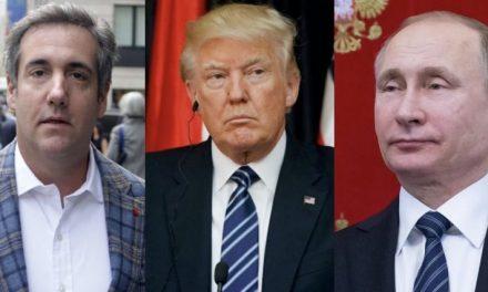 Documentos de Mueller Revelan que Trump Ordenó a Michael Cohen Organizar una Reunión con Putin en 2015