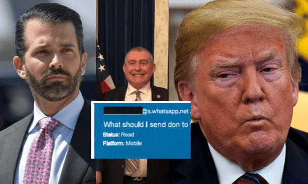 Donald Padre Puede no Ser el Único Trump en Visitar la Cárcel Pronto. El Junior Implicado en lo de Ucrania