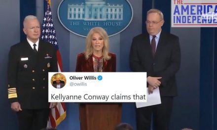 Kellyanne Elogia a Melania y Donald Trump y la Nación, Cansada de Llorar, se Echa a Reír en su Cara