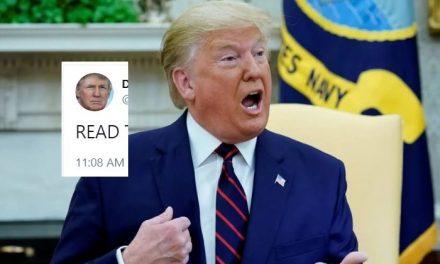 Lo Que Trump Tuiteó Desde Davos al Inicio de su Juicio Político Sólo Confirma Aún Más su Culpabilidad