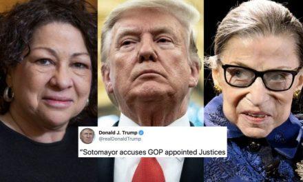 """Trump Critica a Dos Juezas Supremas por Estar """"Parcializadas"""" y Exige que se Recusen de sus Casos"""