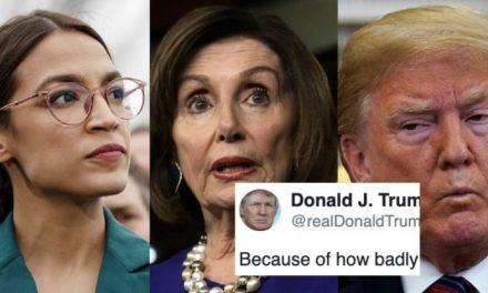 Trump Quiere Echar a Pelear a los Senadores Demócratas Entre Ellos. Pura Patraña. ¡No le Creas!