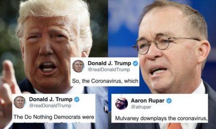 Trump y su Jefe de Personal Minimizan los Temores al Coronavirus como Complot de los Medios para Derribarlo