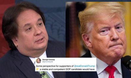 """""""Un Psicópata y un Bufón"""": Así es Como Describe George Conway a Trump en su Último Tweet"""