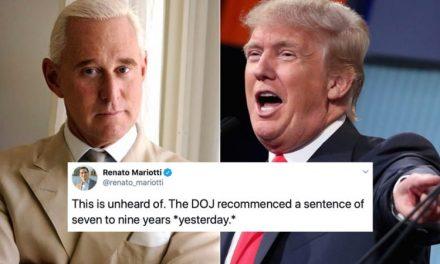 Condenan al Compinche de Trump. El Emperador Protesta y el Dpto de Justicia se Prepara a Echar Todo Atrás