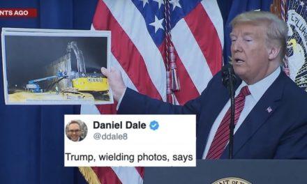 """Trump Afirma que Será Difícil Escalar el Muro Fronterizo Porque """"No hay Demasiadas Mangueras en el Área"""""""