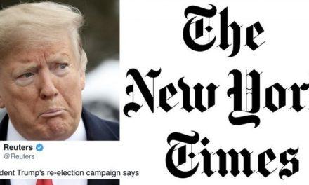 Trump Intensifica la Guerra Contra la Prensa Mientras su Campaña Presenta una Demanda Nuevamente New York Times