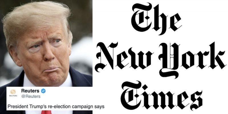 Otra Demanda al New York Times: Trump Intensifica la Guerra Contra la Prensa Antes de las Elecciones