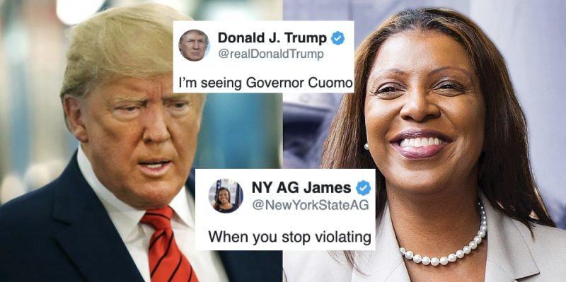 Otra Mujer Con Muchas Agallas se Enfrenta a Trump Cuando Este Trata de Poner Fin a Investigaciones Sobre Él