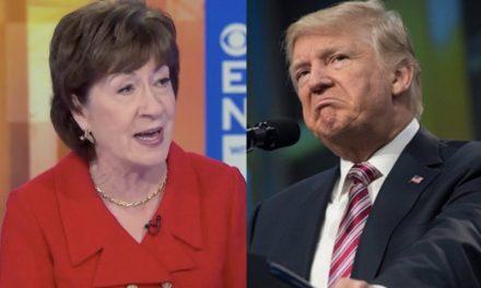 """Ella Quiso Justificarse Diciendo Que Trump """"Aprendió Algo"""" del Juicio Político. Él la Desmintió al Momento"""