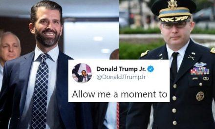 """Junior Feliz Por el Despido de un Héroe y Agradece a Schiff por """"Desenterrar a los que Necesitan ser Despedidos"""""""