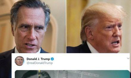"""Este Senador Votó Contra Trump. Horas Después la Bestia Publicó Video Acusándolo de """"Agente Demócrata"""""""