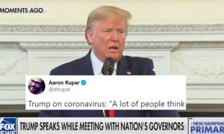 """Trump Descarta Descaradamente el Coronavirus, Afirma que Simplemente Desaparecerá """"Con el Calor"""""""
