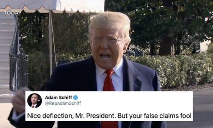 Trump Acusó a Schiff de Filtrar Información, Pero no Contó Con Una Respuesta Tan Demoledora de su Parte
