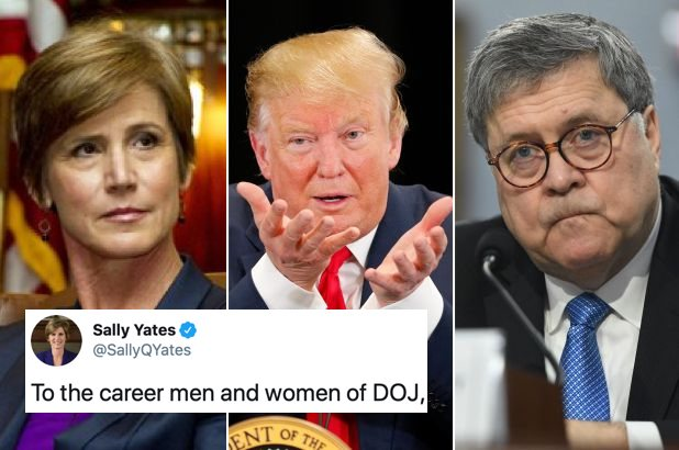 Trump Interfirió con la Justicia de Nuevo y la Mujer Que Habla Poco, Pero Cuando lo Hace Demuele, lo Crucificó