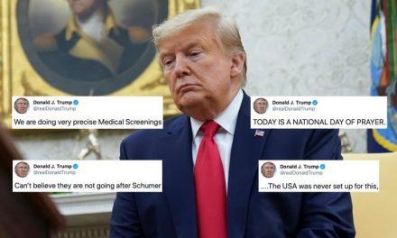 ¿Cuál es la Respuesta de Trump a la Emergencia del Coronavirus? Pues Hacer Campaña y Atacar a los Demócratas