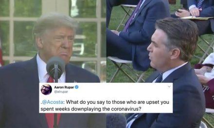 """Trump Arremete Contra Jim Acosta de CNN, Luego de Que lo Confrontase Directamente por """"Minimizar"""" el Virus"""