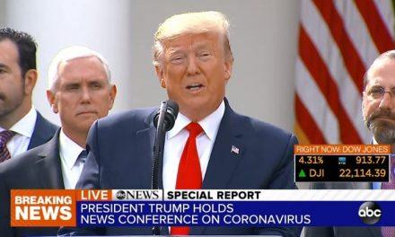 En Respuesta al Retraso en las Pruebas del Coronavirus Trump Acaba de Pronunciar la Frase Que Definirá su Presidencia