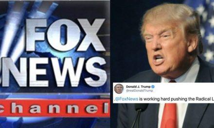 Adiós a su Mejor Amigo. Trump le da la Espalda a Fox News y los Acusa de Apoyar a los Demócratas