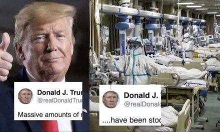 Un Verdadero Presidente Muestra Compasión. Trump Muestra su Rencor a los Gobernadores Que Luchan Por su Gente