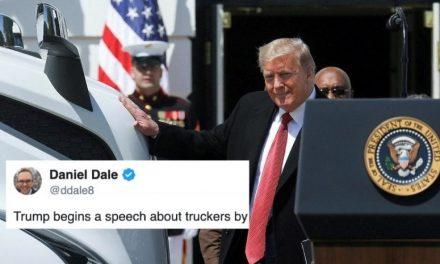 Extraña Historia de Amor con Camiones: Trump Trata a la Ligera Una de las Profesiones Más Duras de América