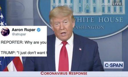 """""""Haz lo Que Yo Digo y no lo Que Yo Hago"""" – El Mundo Entero Con Máscaras y Trump Dando el Mal Ejemplo"""