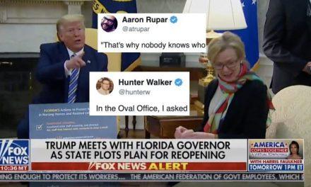 """Trump Explota Contra un Reportero: """"Por Eso Trabajas Para Yahoo y Nadie Sabe Quién Eres"""""""