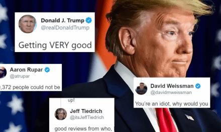 """Casi 52,000 Muertos y Trump se Jacta de Estar Recibiendo """"Excelentes Críticas"""" por su Respuesta al Coronavirus"""