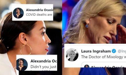 """AOC Responde a Laura Ingraham por Menospreciar su Preocupación Sobre el Virus: """"¿Cómo es Qué Aún Estás en la TV?"""""""