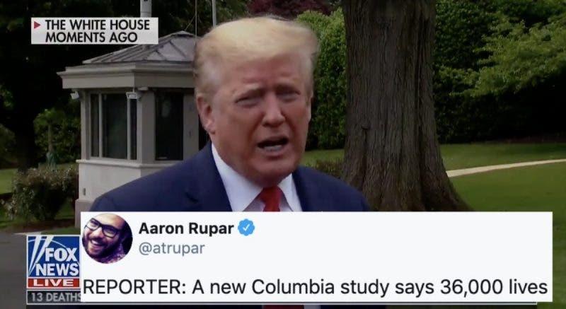 """""""Pudo Haber Salvado 36,000 Vidas"""", Pero Trump se Enfrenta a la Universidad de Columbia: """"Muy Liberal"""""""