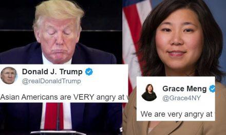 """Trump """"no Sabía"""" Con Quién Están Enojados los Asiático-Estadounidenses, Pero Esta Congresista se lo Aclaró"""