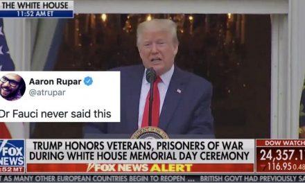 """En el """"Día de los Caídos"""", Trump Habla de Todo, Menos de Honrar a los Caídos. Ataca a Obama y Pelosi"""