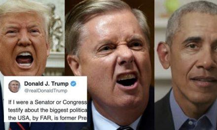Trump Ordenó a su Lacayo Acusar a Obama y Llevarlo Ante el Congreso. ¡No Seas Más el Sr. Amable!