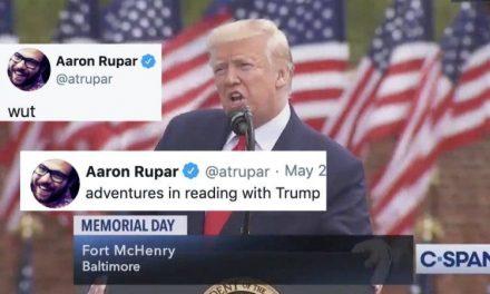 """¿Cuál ha Sido el Peor Discurso de la Historia en un """"Día de los Caídos""""? Trump se Superó a Sí Mismo"""