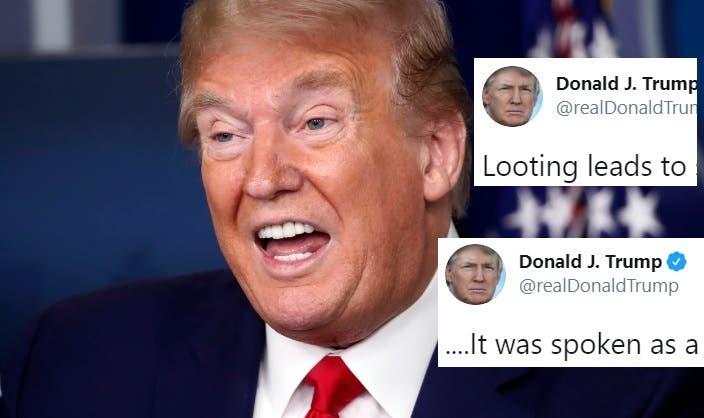 ¿Habrá Alguien Que Crea las Estúpidas Excusas de Trump por Incitar al Tiroteo y la Violencia? Ni los Trumpistas