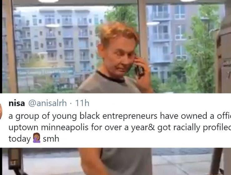 Otro Blanco de Minnesota Llamando la Policía Para Intimidar a Jóvenes Empresarios Negros