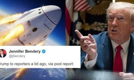 """""""Me Gustaría Ponerlos en un Cohete y Deshacerme de Ustedes"""" – es el Nuevo Mensaje de Trump a los Reporteros"""