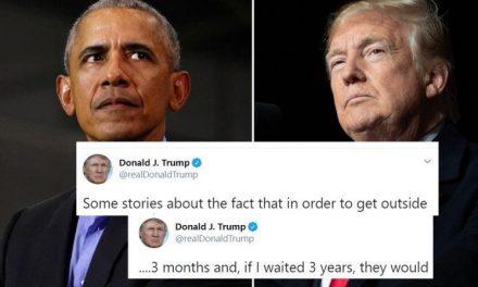 ¿Si Fueras Presidente de un País Con 100,000 Muertos te Irías a Jugar Golf? Pues Trump Sí. Y Sigue Culpando a Obama